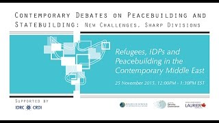 eSeminar: Refugees, IDPs and Peacebuilding