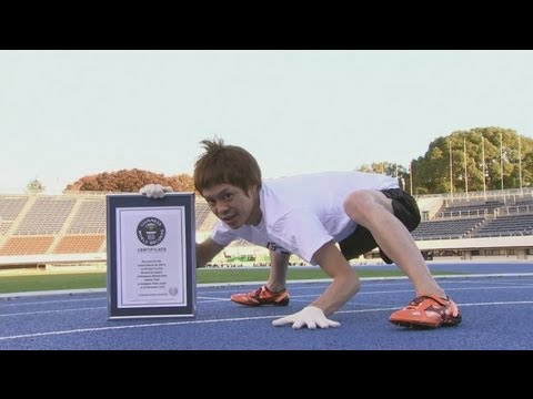 Fastest man on all fours - Guinness World Record