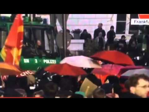"BREAKING: ""Riots In Germany"" Outside European Central Banks"