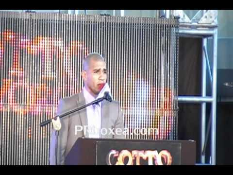 Miguel Cotto y Ricardo Mayorga Conferencia de Prensa en Puerto Rico press conference