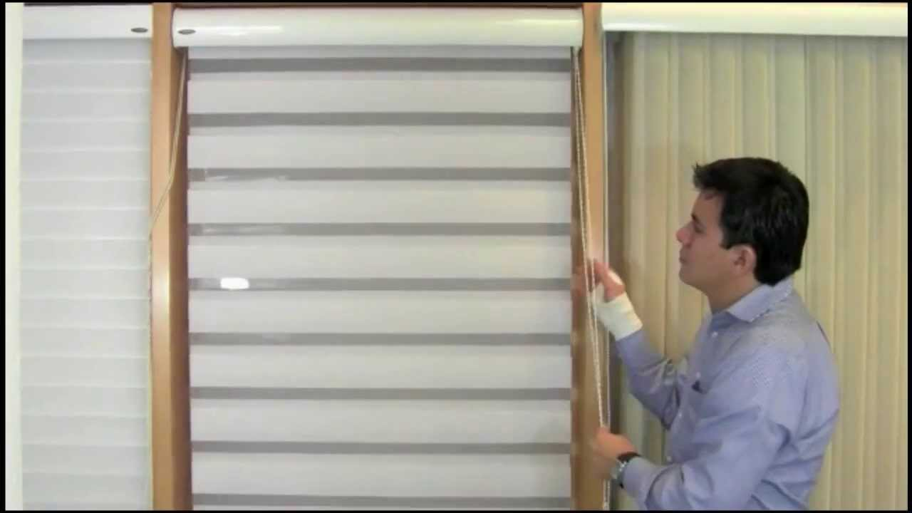 Persiana Duo Elegance Mirage by HunterDouglas  YouTube