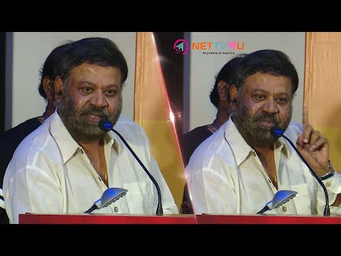 Mayilsamy Is An Extremely Talented Person, Praises Director P Vasu At Kasu Mela Kasu Audio Launch!