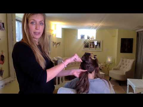 How To Create A Base For Your Low Updo