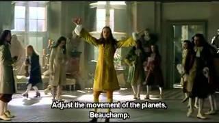 Le roi danse - Escena
