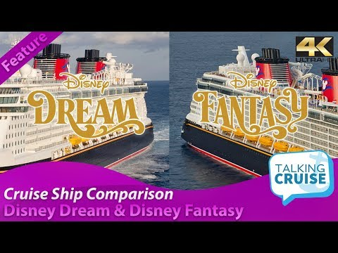 Disney Dream Disney Fantasy Cruise Ship Comparison 2019 Youtube