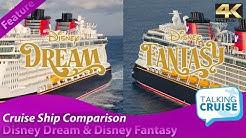 Disney Dream & Disney Fantasy - Cruise Ship Comparison (2019)