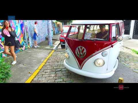 Road Trip Street Art en Combi T1 dans les rues de São Paulo