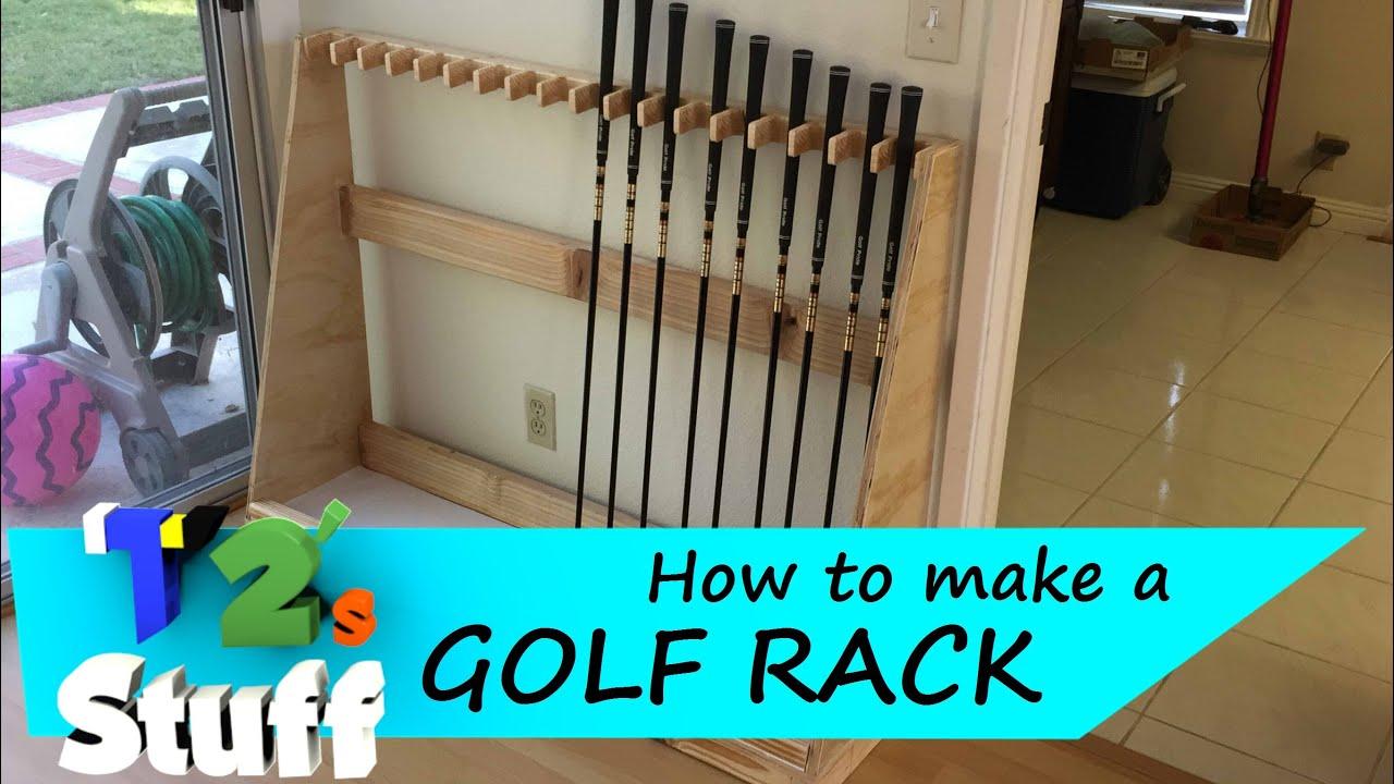 Golf Club Display Rack Plans | Tyres2c