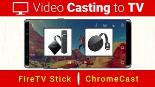 Casting from Mobile to TV | Best Casting Video Player 2019 | Andriod Casting Player