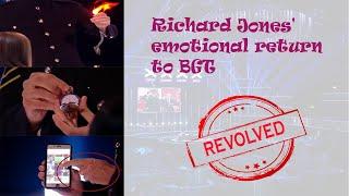 Richard Jones&#39 emotional return to BGT Magic Tricks Finally Revealed  -Sinhala