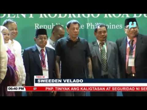 Pres. Duterte, dumalo sa Bangsamoro Transition Commission (BTC) launch