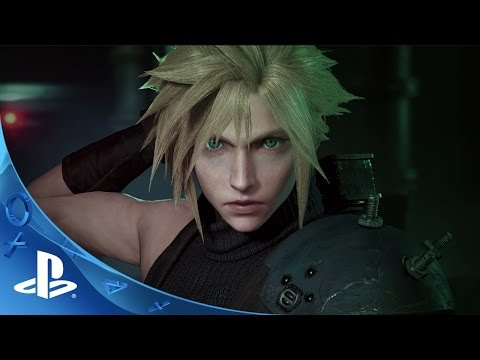 FFVII Remake - Official first gameplay footage