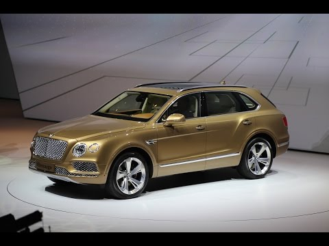 Parking Bentley S New Bentayga On Your Driveway You Ll Need To Front Up At Least 229 100 That How Much The World First Ultra Luxury Suv Will Cost
