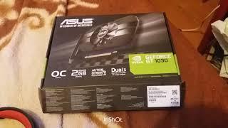 Тест майнинг на трех сервисах.💰Майнинг на видеокарте Asus GT 1030 2GB - Это реально?