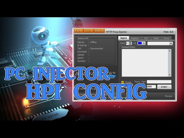 Hpi Config For Pc Http Injector Free Internet For Your Pc Globe