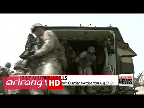 South Korea-U.S. kick off Ulchi Freedom Guardian exercise