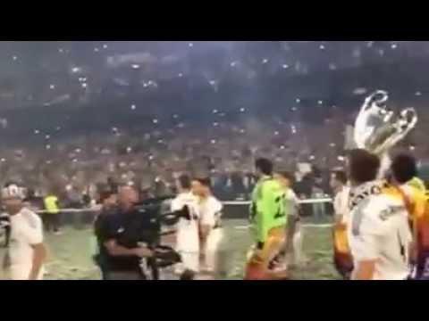Real Madrid Celebran La Décima En El Santiago Bernabeu 2014