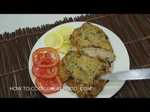 Easy Baked Parmesan Chicken Breast Recipe