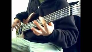 "Anthrax ""Antisocial"" Bass Cover"