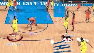 NBA 2k17 MyTEAM - Made Impossible Deep Buzzer Beater! Diamond Allen Iverson Breaking Ankles!