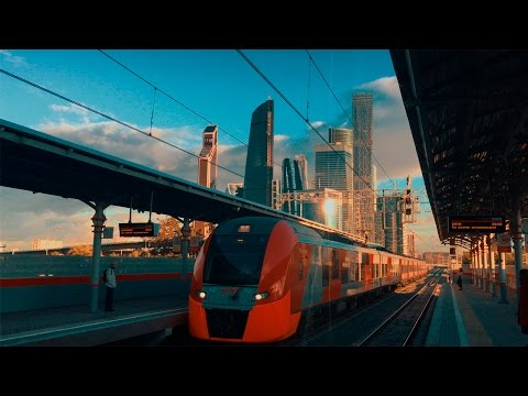 Iphone 7 4k CINEMATIC video. Russia, Moscow