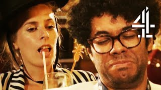 """I'm Absolutely Hammered"" Richard Ayoade & Sara Pascoe Go Drinking 