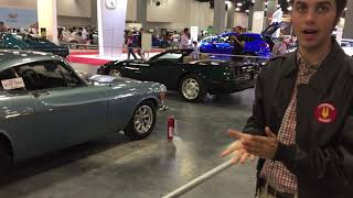 2018 Miami Auto Expo - Classic Section - Volvo P1800