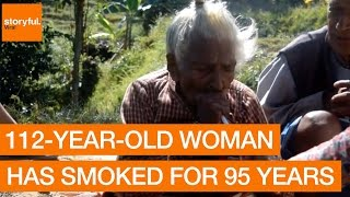 112 year old woman has smoked for 95 years