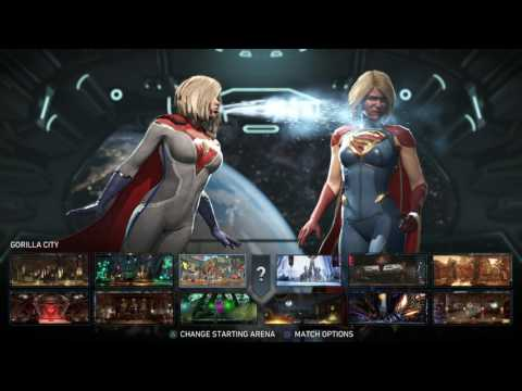 Injustice 2   Power Girl vs Supergirl   1080p60