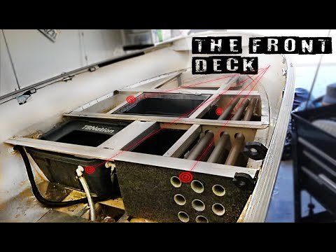 The Front Deck - Lund Deep V Aluminum Boat Restoration