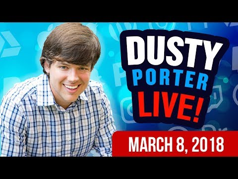 How To Grow Your YouTube Channel With Dusty Porter - LIVE
