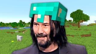 Keanu Reeves in Minecraft Confirmed?!
