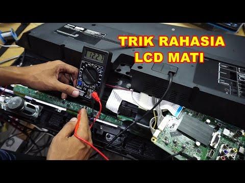 Menghidupkan TV LCD LED Layar Mati Short VLOG88