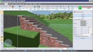 Tvorba kamenných schodů v programu NBL Landscape Designer 2014 CZ