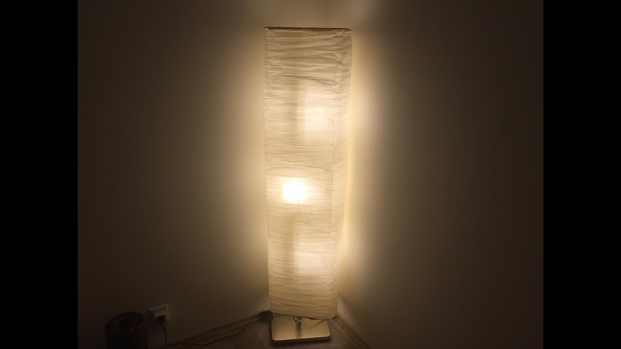 Ikea magnarp lamp youtube for Magnarp table lamp youtube