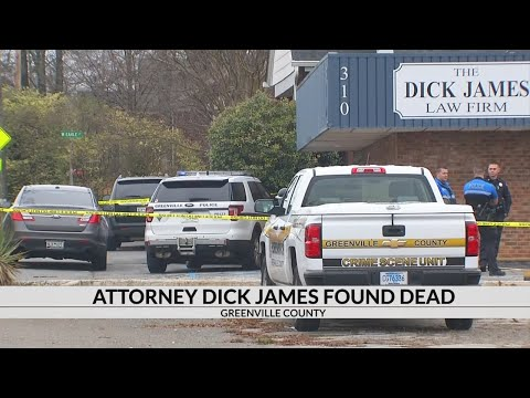 Attorney Dick James found dead at law firm in Greenville