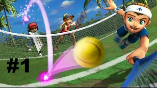 Hot Shots Tennis HD (PS4) Part 1: Smashing!