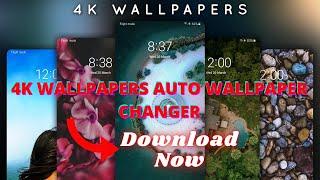 Best 4k wallpapers Auto Wallpaper Changer screenshot 4