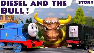 Thomas and Friends Toy Trains Episode Diesel and the Bull - Train Toys For Kids ToyTrains4u