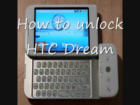 How to unlock HTC Dream - Unlock Code for HTC Dream. IMEI unlocking HTC Dream