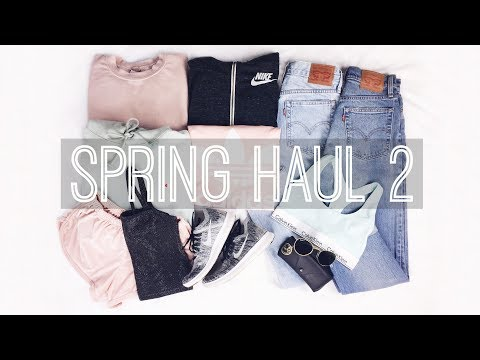 Spring TRY ON Haul 2 // Brandy Melville,...