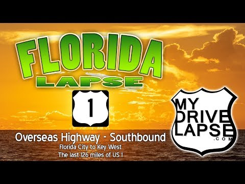 The Drive to Key West: US Highway 1 Southbound