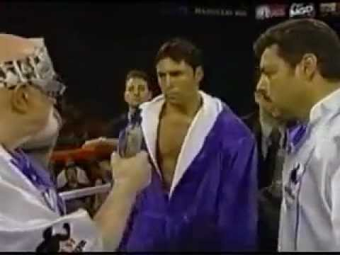 Big Pun Live Twinz on boxing ring (De La Hoya vs Trinidad) 1999