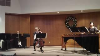 Cello and Marimba benefit recital Part B