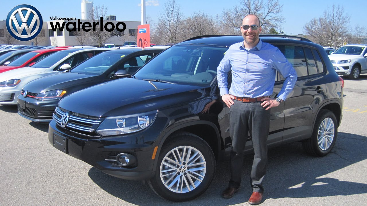 2015 vw tiguan special edition review at volkswagen waterloo at robert vagacs youtube. Black Bedroom Furniture Sets. Home Design Ideas