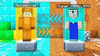 I Transformed Into My NOOB FRIEND in Minecraft! (Brain Swap Challenge)