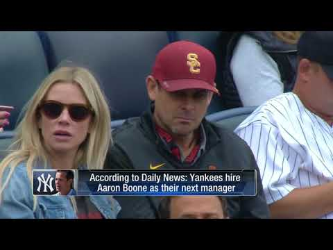New York Yankees pick Aaron Boone to be their next manager
