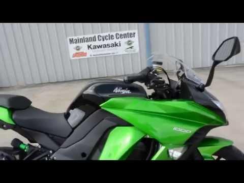 SALE $9,999: 2015 Kawasaki Ninja 1000 ABS Overview and Review