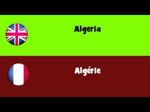 FROM ENGLISH TO FRENCH = Algeria