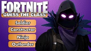Devinez la classe dans Fortnite Quiz (fr) Ultimate Fortnite Challenge (en)